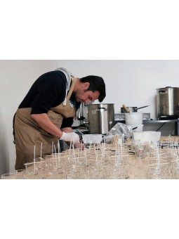 Fabrication Artisanale made in Provence - Cirier d'Art