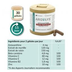 Composition Argolys Protection Oculaire 30 gélules végétales