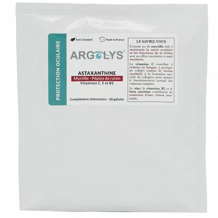 Sachet recharge Argolys Protection Oculaire 30 gélules végétales