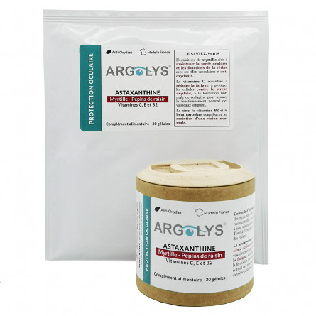 Pack Argolys Protection Oculaire 1 flacon + 1 sachet recharge