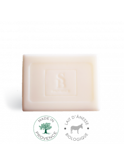 MA SAVONNETTE « S&B Provence » pour ADERMYS au lait d'ânesse biologique.