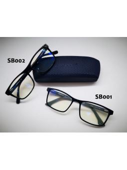 2 modèles de lunettes de repos « Filtre lumière bleu » : SB001 et SB002