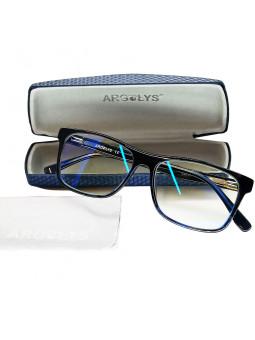 Prévention et protection des yeux des effets nocifs de la lumière bleue des écrans et lumières artificielles.