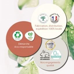 Garanties Adermys Cosmetics, la gamme cosmétique de S&B Provence.