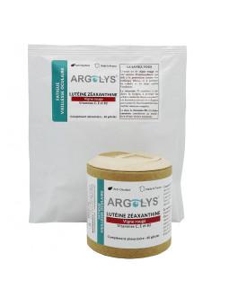Flacon + sachet recharge Argolys Fatigue & Vieillesse Oculaire 60 gélules végétales