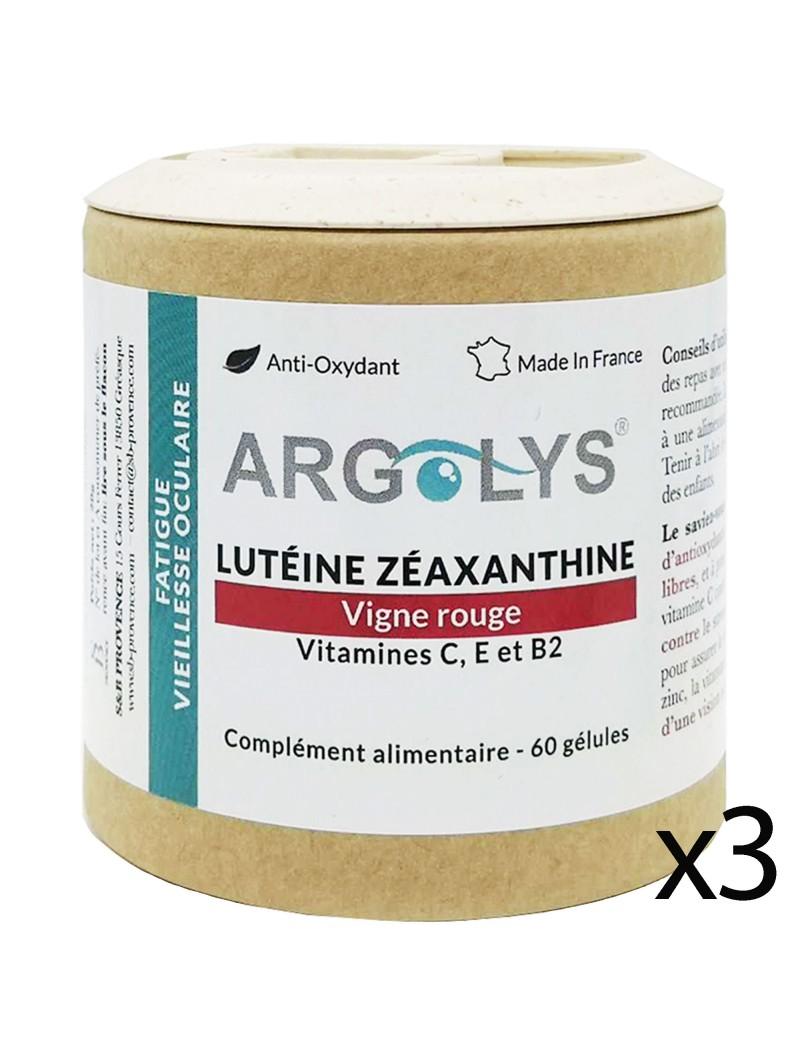 Argolys® Fatigue & Vieillesse oculaire : 3 flacons (1 mois de cure OFFERT !)