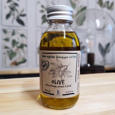 Huile d'olive biologique - Flacon 100ml