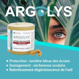 Bienfaits yeux Argolys Fatigue & Vieillesse Oculaire 60 gélules végétales