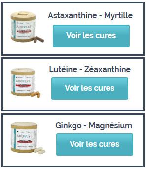 Les différentes cures Argolys